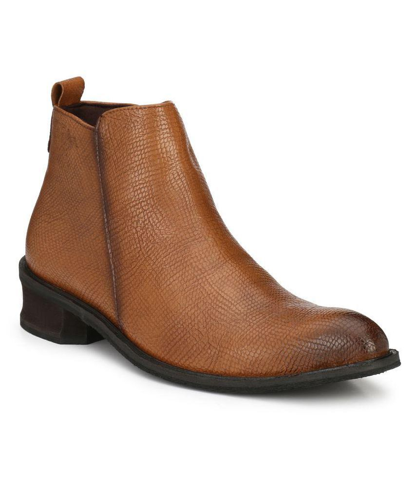 Delize Tan Party Boot