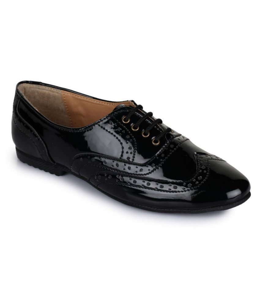 Picktoes Black Casual Shoes