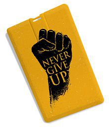 100yellow Motivational Quote 16GB USB 3.0 Utility Pendrive Pack of 1