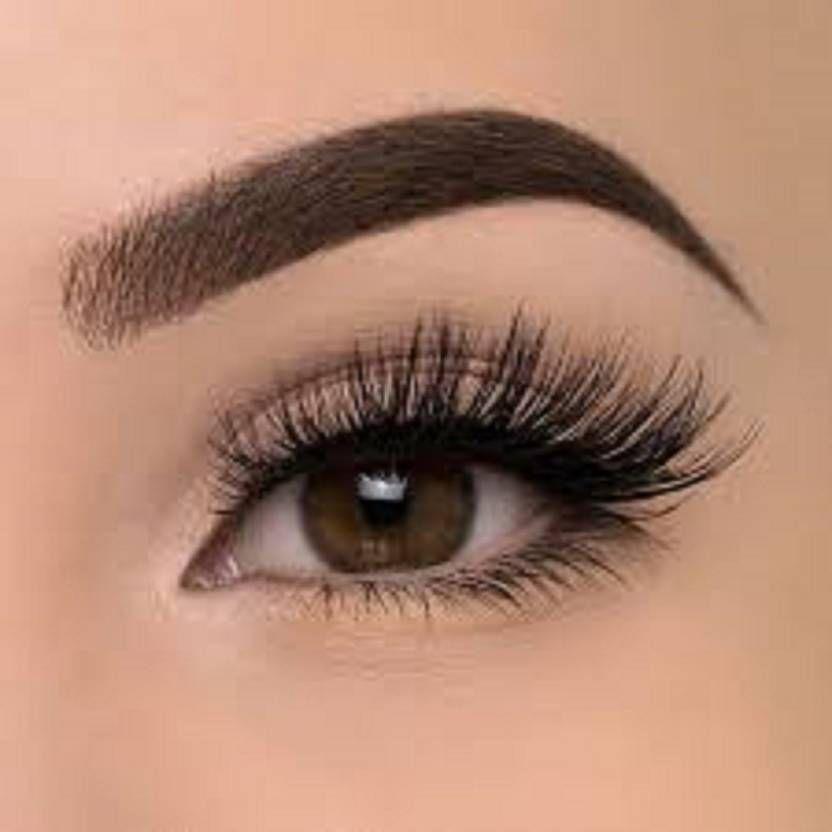 8ab9d4cb5a8 False Eyelashes With Glue Set (1 Pair): Buy False Eyelashes With ...