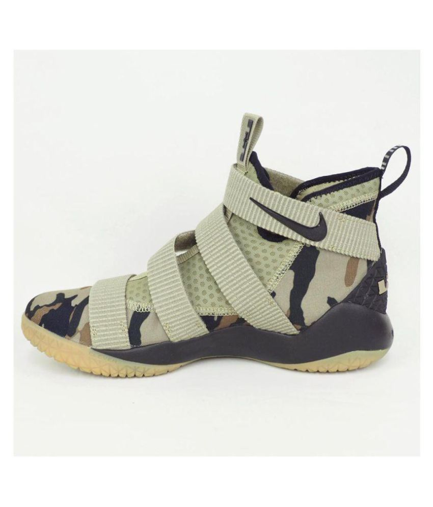 b334f412b19 Nike Lebron Zoom Soldier 11 Neutral Olive Midankle Male Others  Buy ...