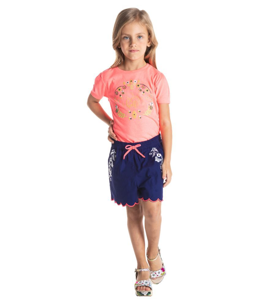 Cherry Crumble Summer Buddy Shorts