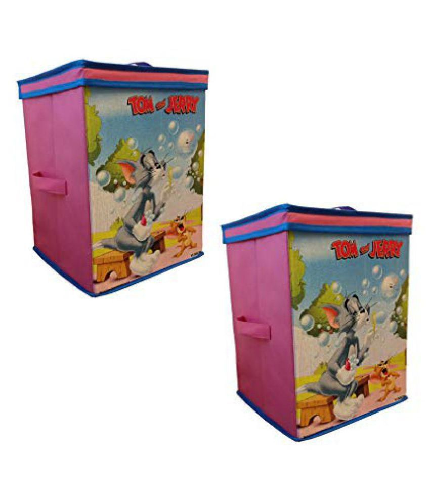 tom jerry toys organizer set of 2 pcs storage box for kids rh snapdeal com