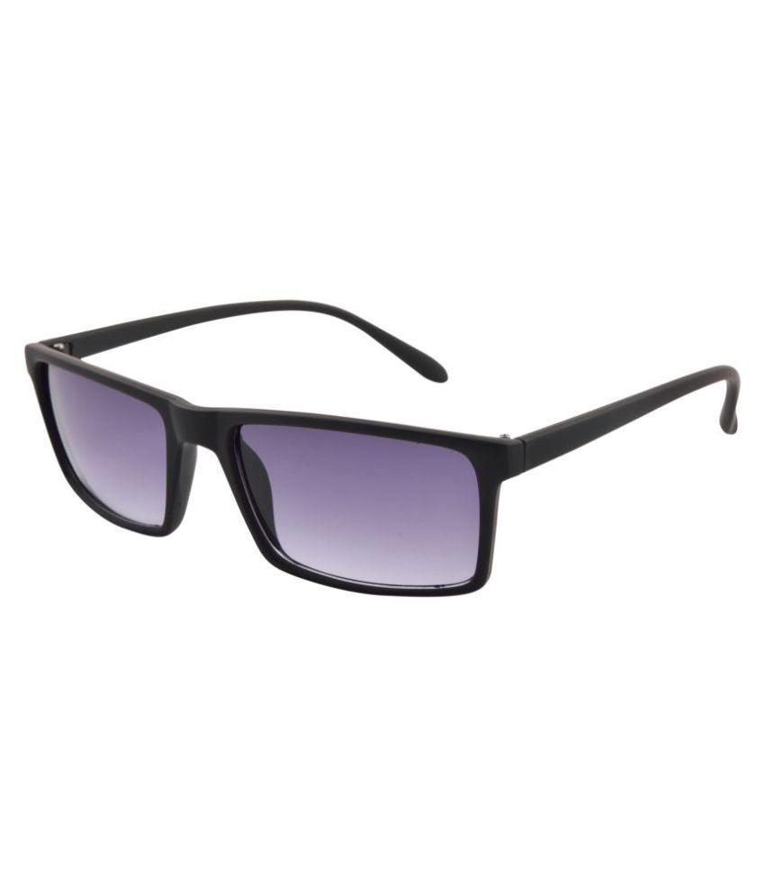 Fstyle Blue Oversized Sunglasses ( 1718-PS-BL )