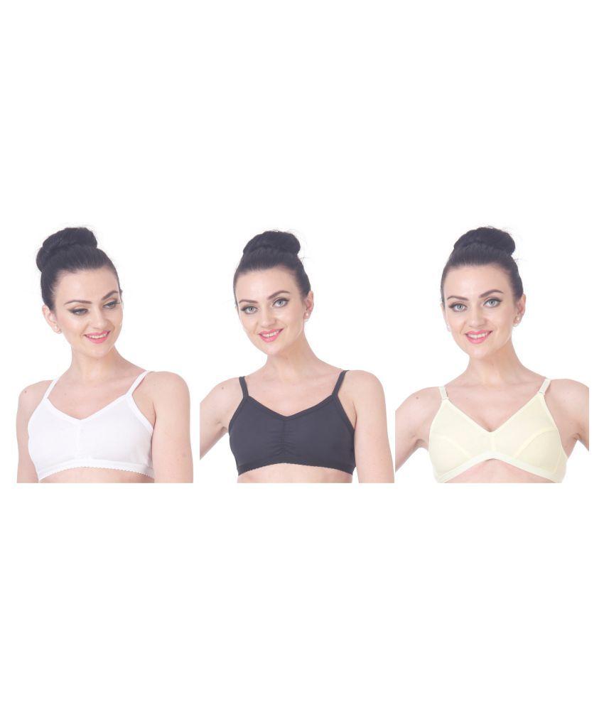 NutexSangini Cotton T-Shirt Bra - Black
