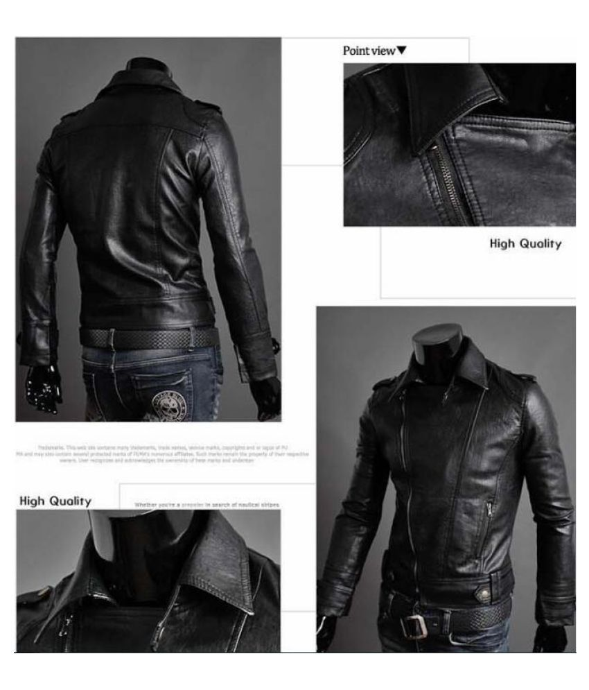 477e637d ... Haorun Men Leather Jacket Autumn Winter Fashion Motorcycle Style Male  Business Casual Coat Western Mens Cowboy ...