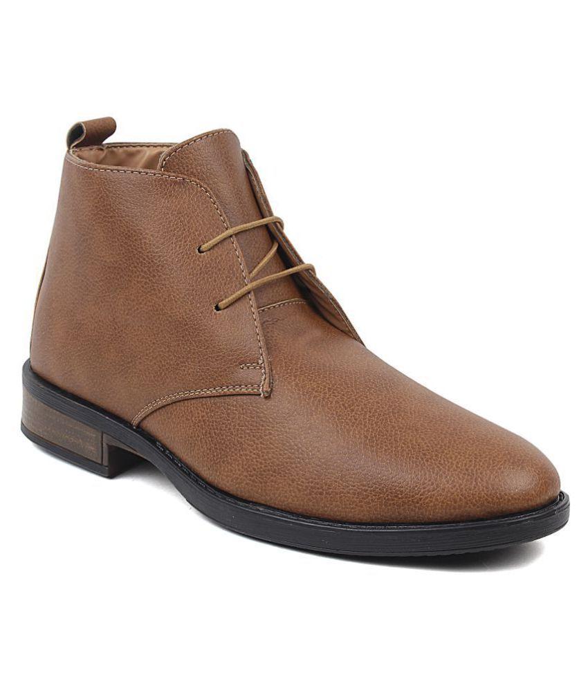Feet Culture Tan Casual Boot