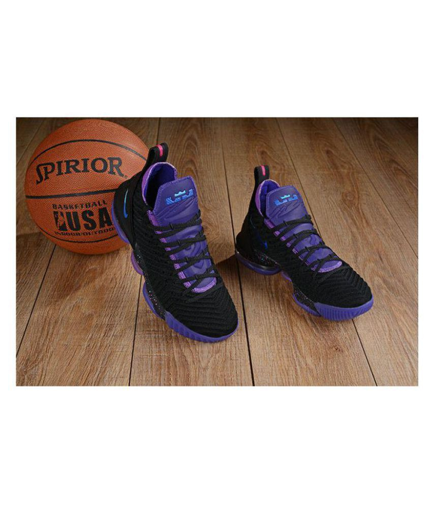 Nike Lebron 16 Low ankle Male Black