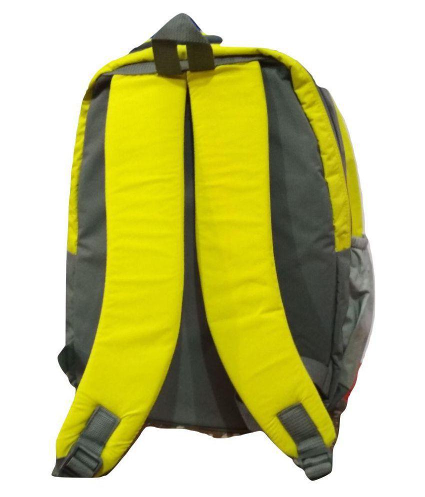 b67985afa3 Adidas Yellow Polyester College Bag Adidas Yellow Polyester College Bag ...