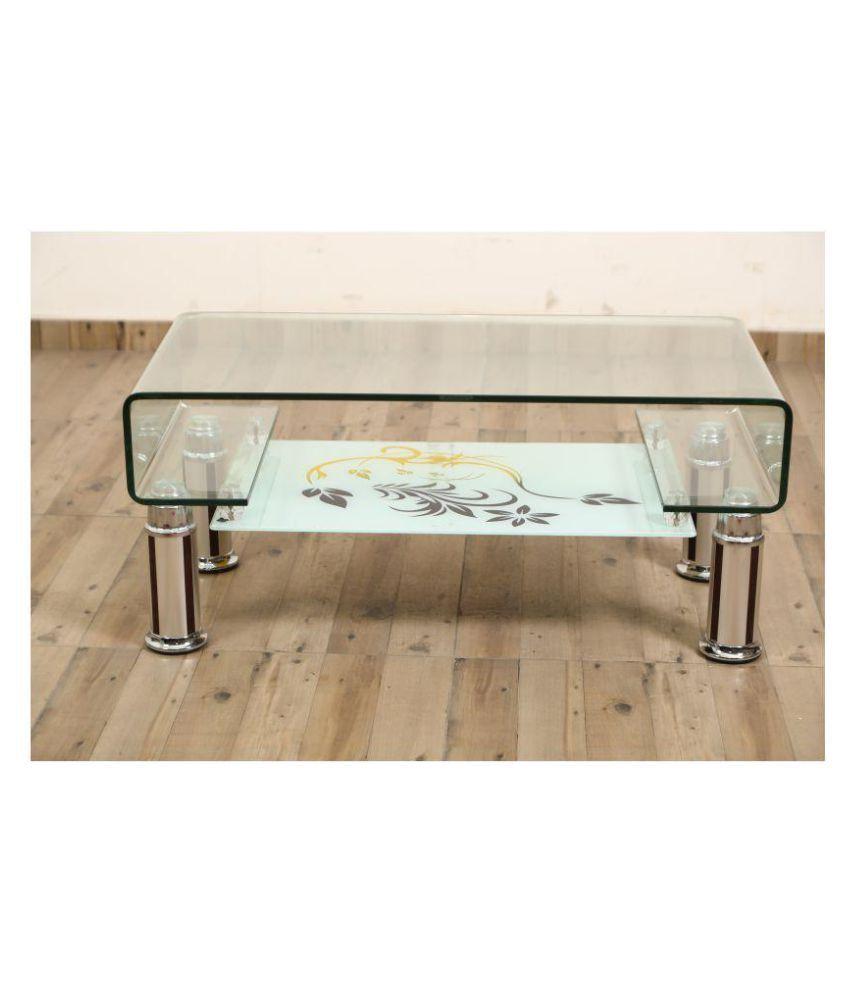 eros glass centre coffee tea table buy eros glass centre coffee rh snapdeal com