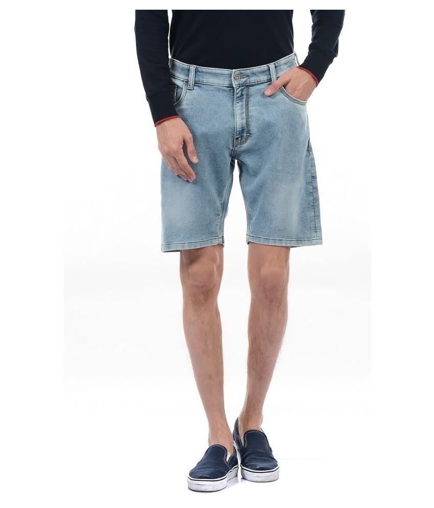 Izod Blue Shorts Single