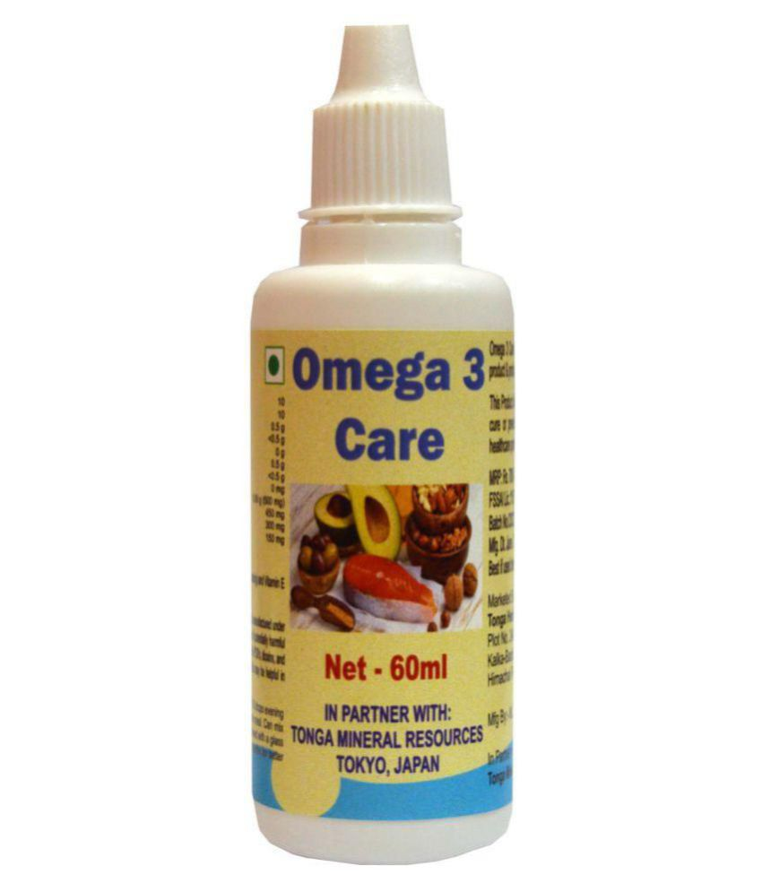 Tonga Herbs Omega 3 Care Drops 60 ml Minerals Syrup