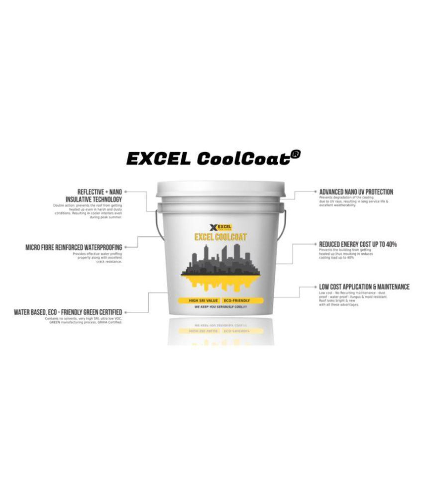 EXCEL COATINGS Exterior Paint White