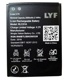 Lyf Mobiles Batteries: Buy Lyf Mobiles Batteries Online At