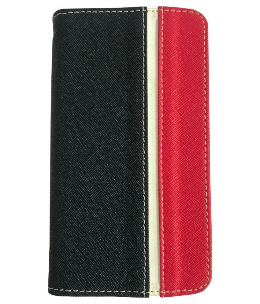 Samsung Galaxy J7 Duo Flip Cover by Zocardo - Red