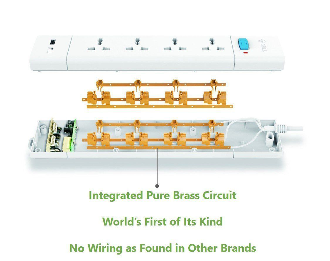 Sensational Buy Bull 6 Socket 1 Switch 3 M Wire Extension Board White Online Wiring Digital Resources Hetepmognl