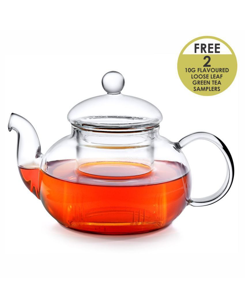 Octavius Glass Carafe With Infuser 800 ml