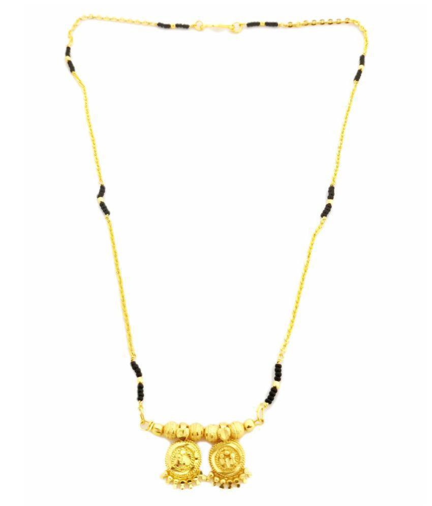 Too Much Jewel Wati Mangalsutra With Engravings