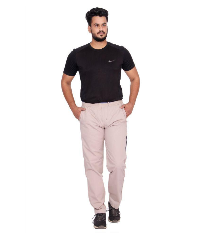Kuber Industries Cotton Pajama Lower Track pant for men  (OFF White)