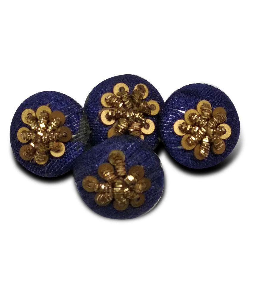 Jacknjewel Steel 2-Holes Button