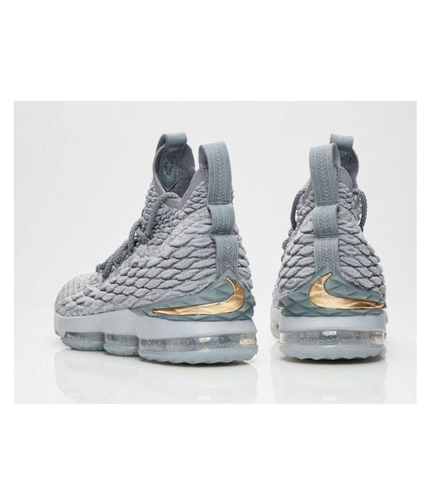 LEBRON Gray WOLF GREY Basketball 15 Nike Shoes dxBoCe