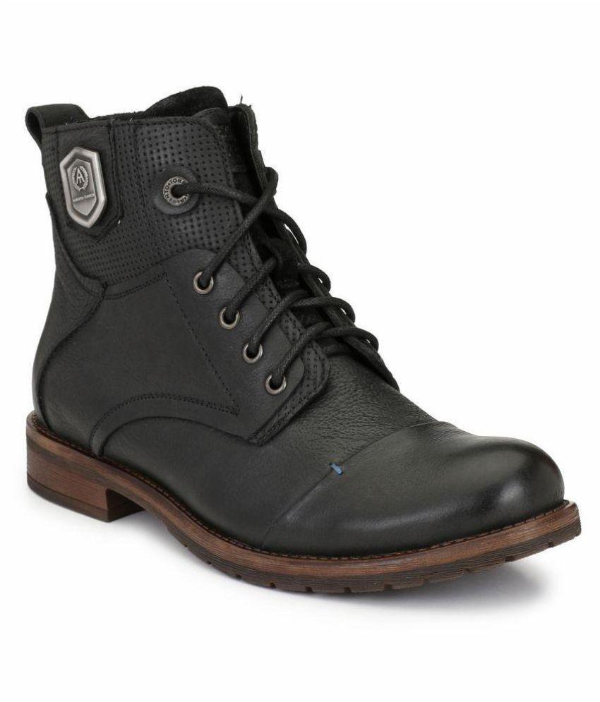 Alberto Torresi Black Party Boot