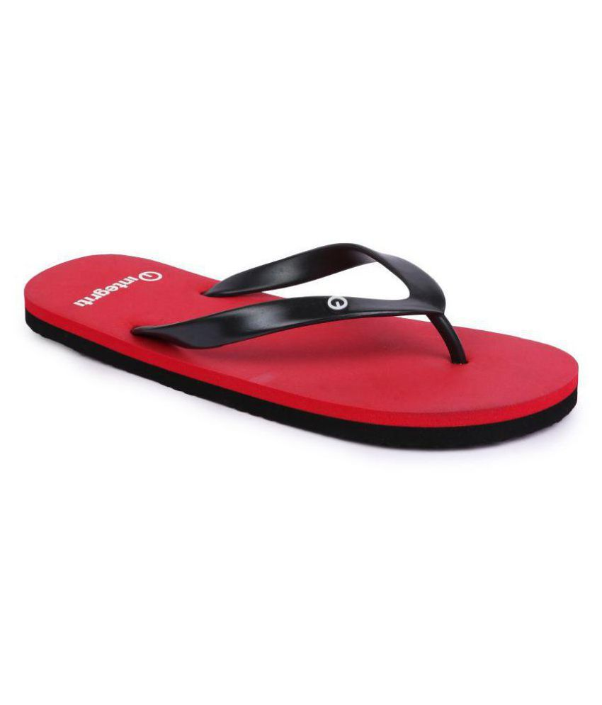 Integriti Red Daily Slippers