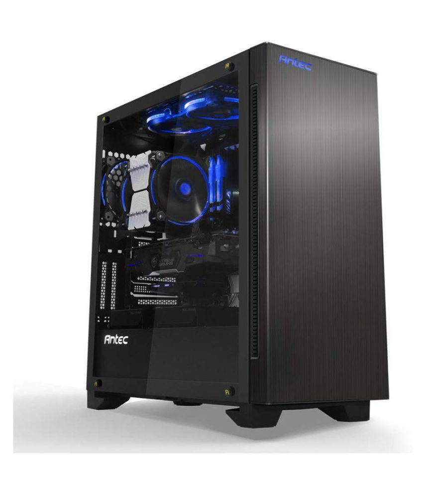 17afa310e801d ... Antec Antec P110 Luce Extreme Performance Mid-Tower Cabinet with  Tempered Glass and RGB LED ...