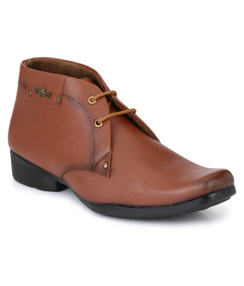 Lee Peeter Tan Formal Boot