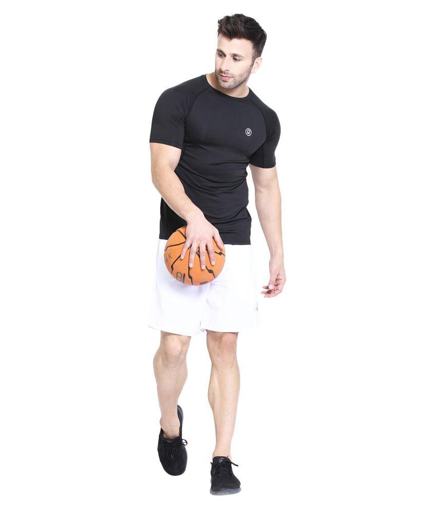 CHKOKKO Men's High Quality Half Sleeve Compression Gym T- Shirt For Men