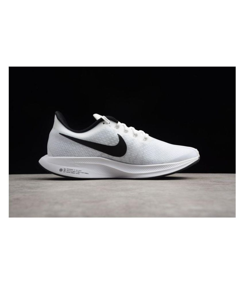 big sale cd057 aba40 NIKE PEGASUS Turbo Zoom X Running Shoes White For Gym Wear