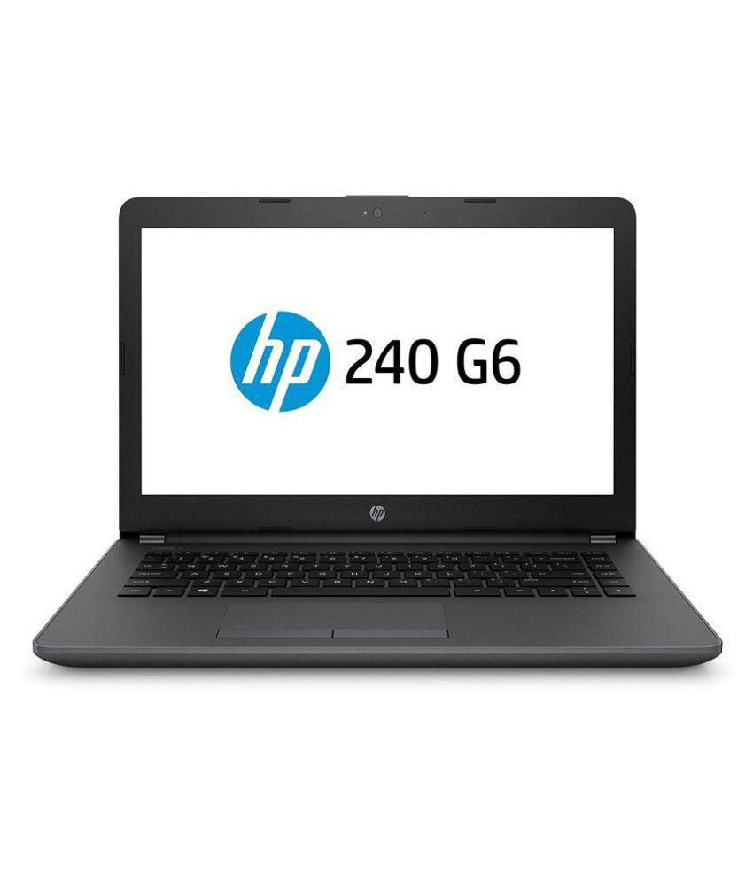 HP 240 G6 (i3 7th Gen/4GB/1TB/35.56(14)/DOS/INT) Black