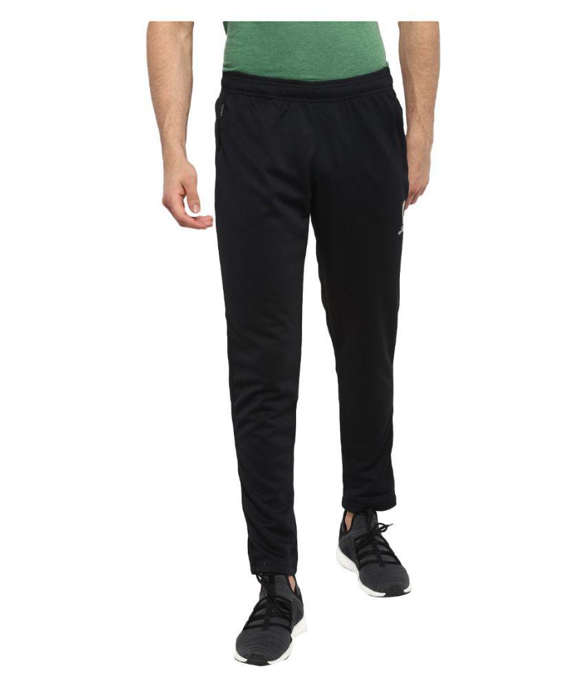 FIFA Men Solid Black Trackpant