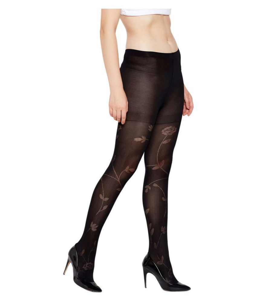 67acc290f Golden Girl Opaque Self Design Stockings for Womens: Buy Online at ...