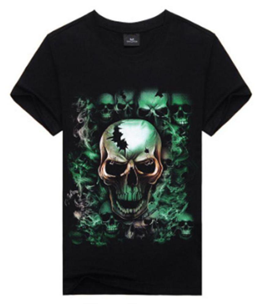 2017 Summer New Fashion Men's Creative 3d New T-shirt 100% Quality