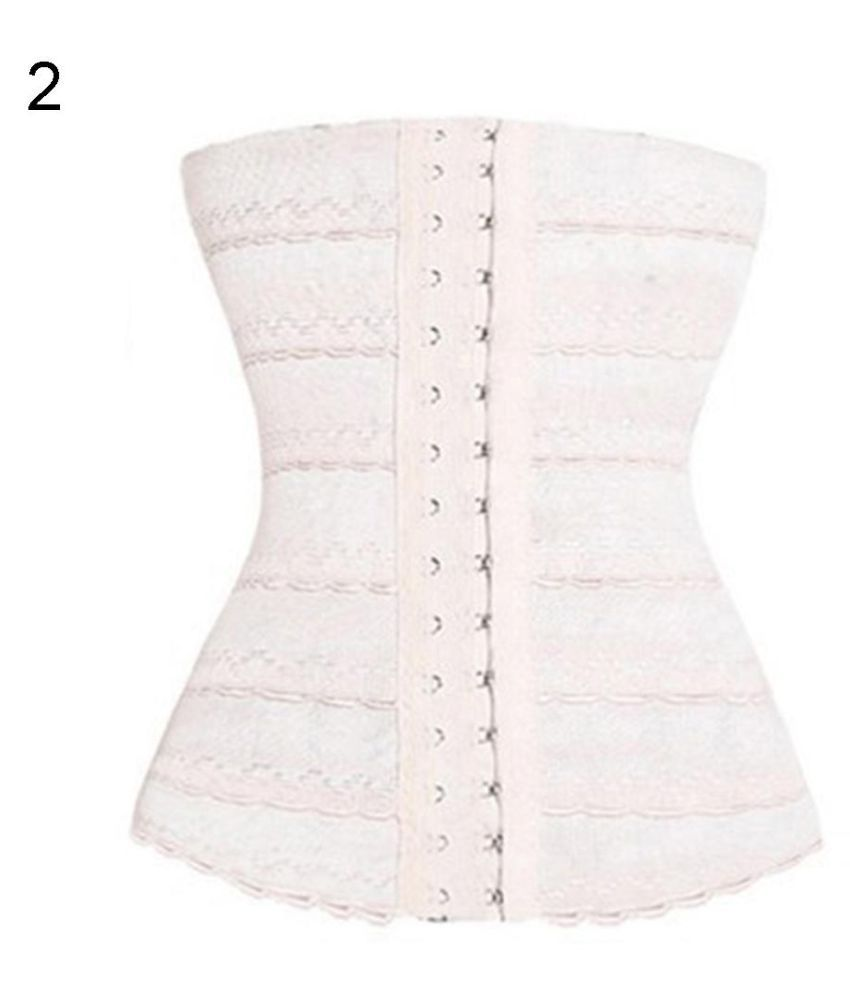 81403e7fcf Women Waist Body Shaper Trimmer Slim Belt Belly Band Slimming Corset  Shapewear  Buy Online at Low Price in India - Snapdeal