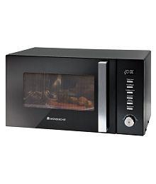 Wonderchef 20 to 26 Litres LTR Roland Microwave 25Litre Convection Microwave Black