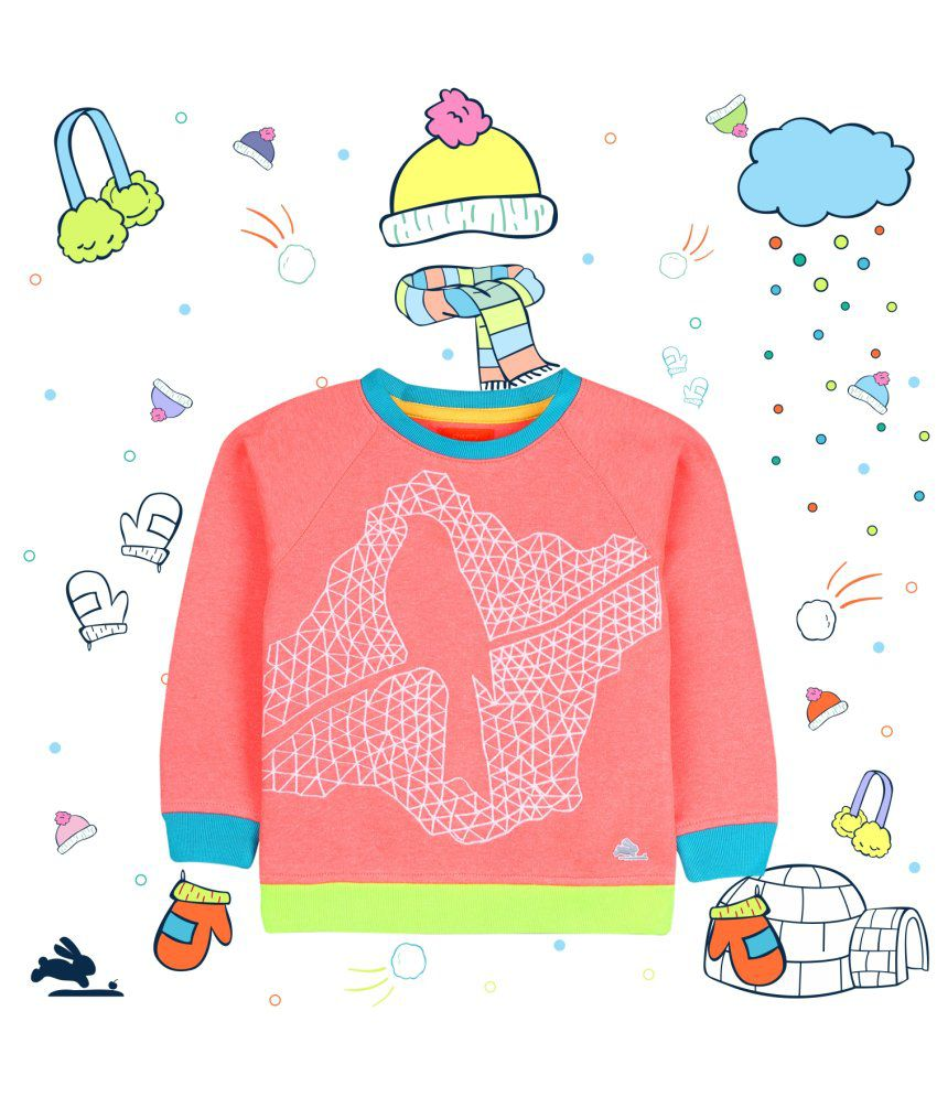 Cherry Crumble Optical Fauna Sweatshirt