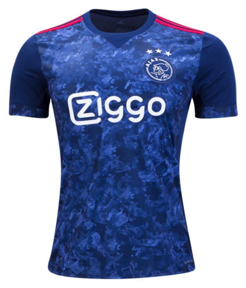 Ajax Blue Polyester Jersey