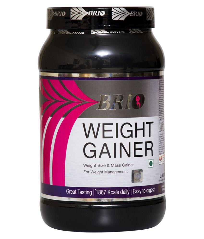 Brio Nutrition weight gainer - Rich Chocolate 1.5 kg Weight Gainer Powder