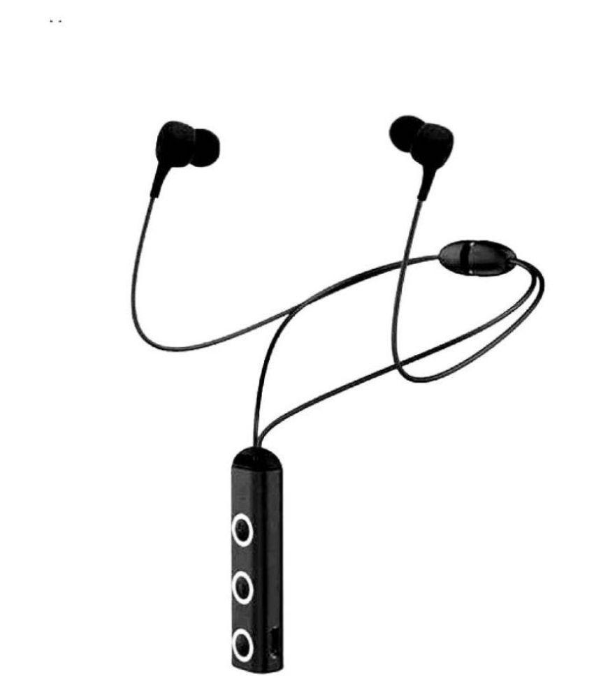 wireless sports v25 Bluetooth Headset - Black
