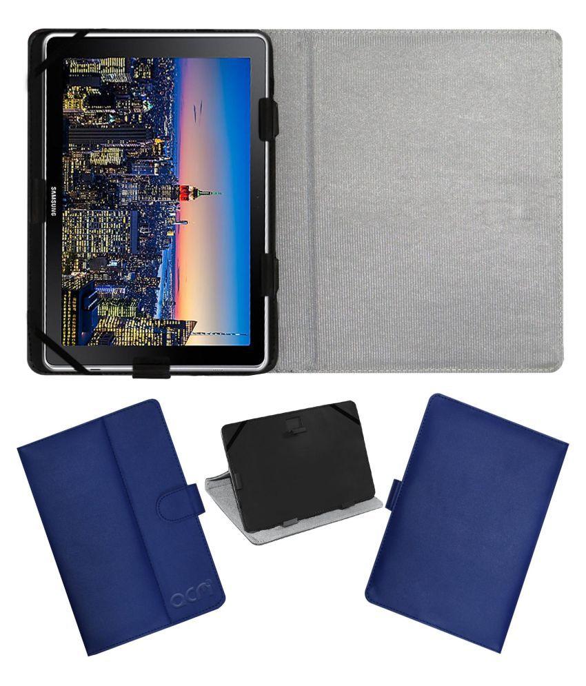 Samsung Galaxy Book 10.6 Inch Flip Cover By ACM Blue