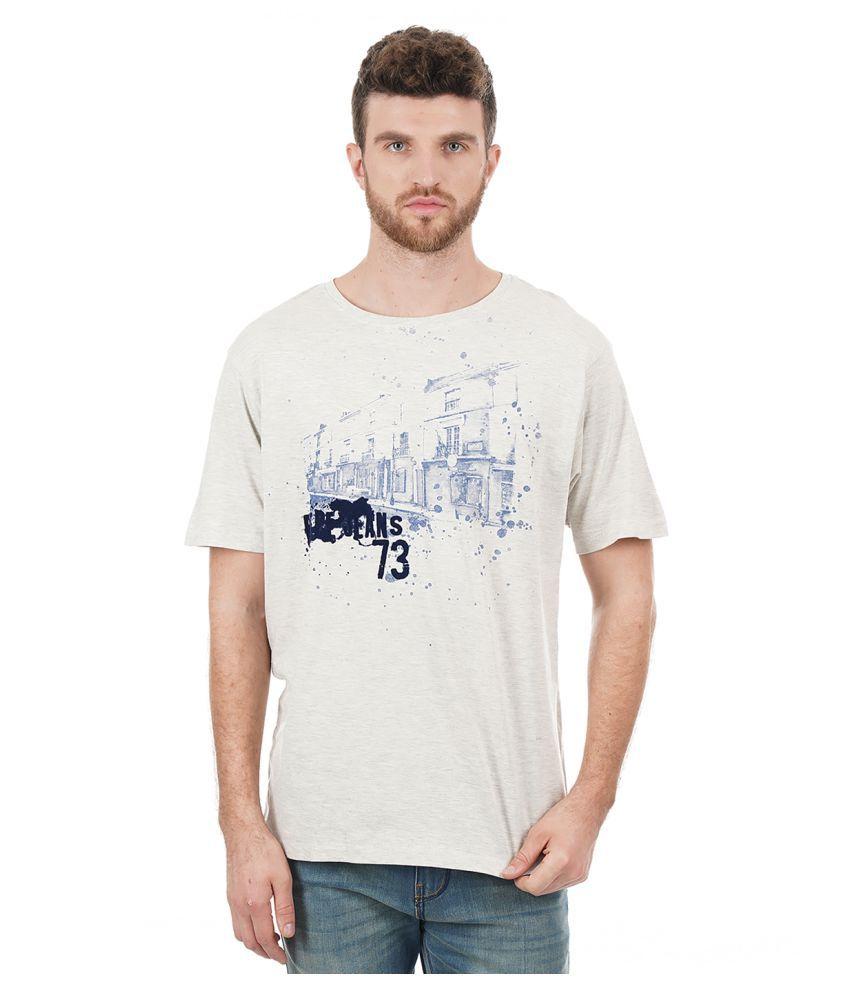 Pepe Jeans White Half Sleeve T-Shirt