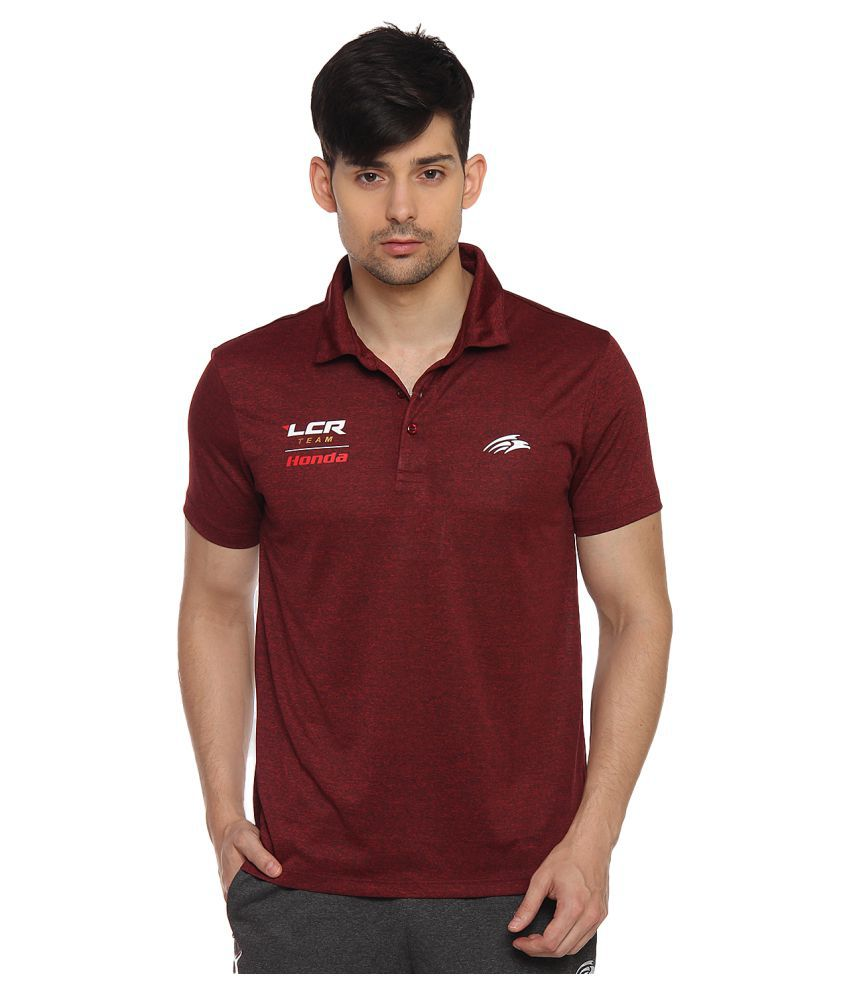 PERF Red Polyester T-Shirt