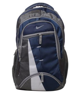 6007a16828192 Nike Navy Blue Polyester College Bags Backpacks- 25 Ltrs Carry Bag Men  Tourist Bag