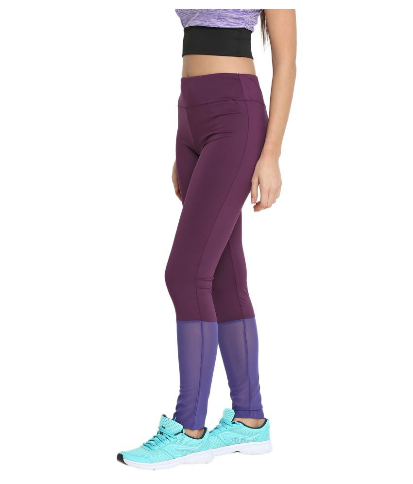 728fdcbaabe163 ... CHKOKKO Mesh Yoga Gym and Active Sports Fitness Leggings Tights High  Waist Sports Yoga Pants for ...