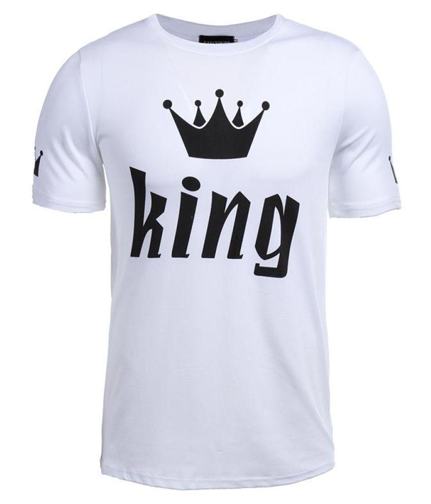 King & Queen Couple Matching Shirts Short Sleeve Tee Top