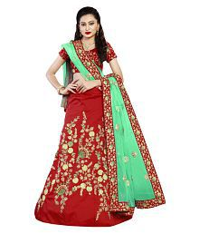4b4d29ef4a Red Lehenga: Buy Red Lehenga for Women Online at Low Prices in India ...