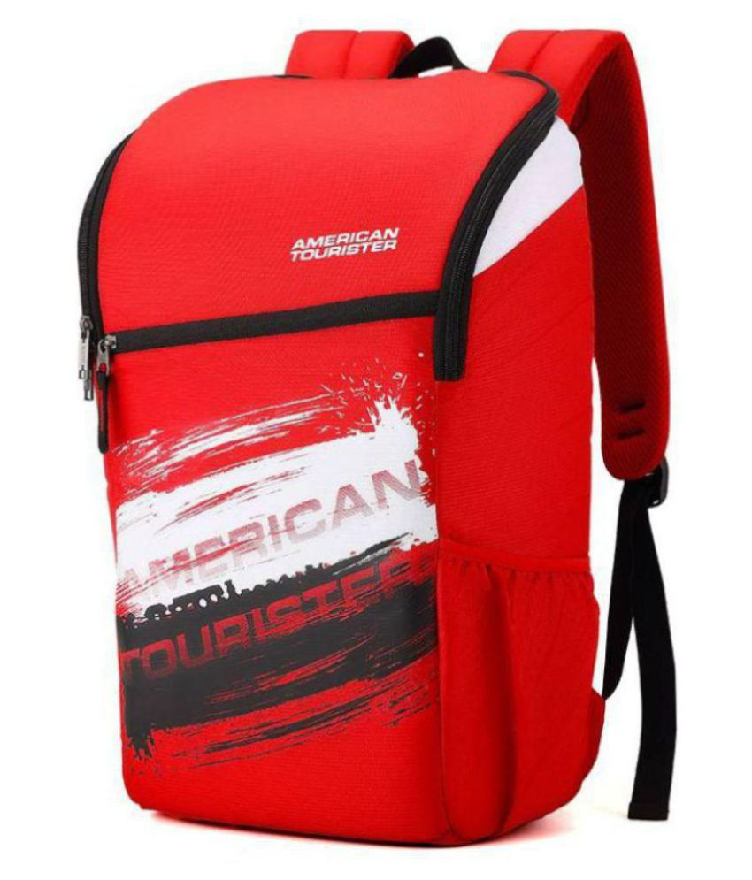 856ea5194a Branded Red Canvas College Bags Backpacks- 25 Ltrs - Buy Branded Red Canvas  College Bags Backpacks- 25 Ltrs Online at Low Price - Snapdeal