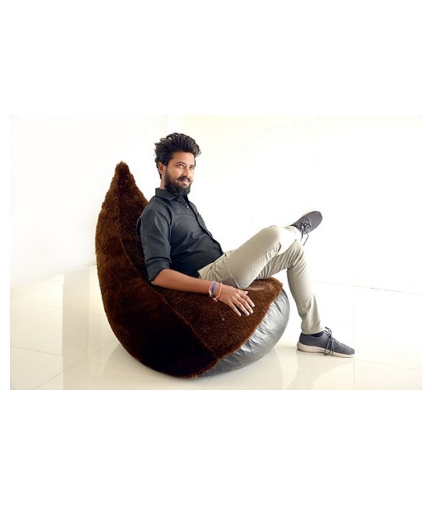 Strange Browny Furry Bean Bag Sofa Beaan Bag Chair Bean Bag Yellow Leather Furry Bean Bag Xxxl Size Unique Style Very Hot Cover Only Bean Bag Chair Brown Pabps2019 Chair Design Images Pabps2019Com